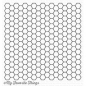 Preview: bg-92-my-favorite-things-clear-stamps-honeycomb-background