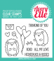 Preview: hedgehugs_clearstamps_averyelle_st1650