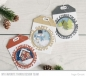 Preview: mft-1190-my-favorite-things-die-namics-happy-holidays-circle-frame-example