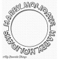 Preview: mft-1190-my-favorite-things-die-namics-happy-holidays-circle-frame