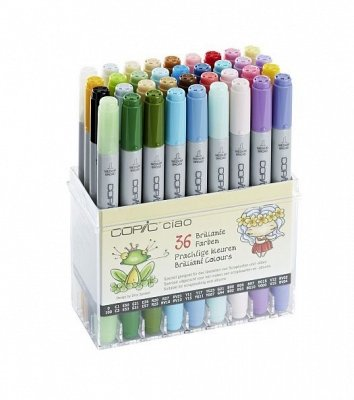 COPIC ciao 36er Set Brillante Farben