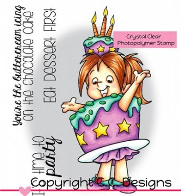 Cake Nancy - Stempel - C.C. Designs