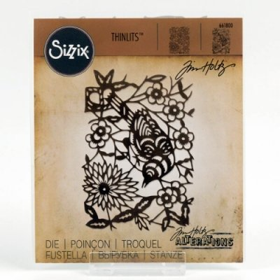 Paper-Cut Bird - Thinlits  PLUS - Sizzix