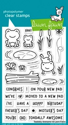Toadally Awesome - Stempel
