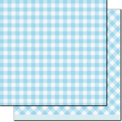 "Gotta Have Gingham - Ruth - 12""x12"""