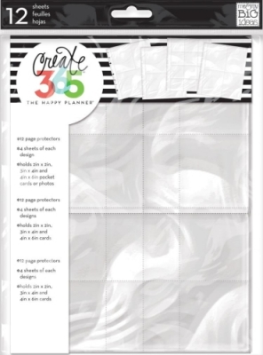 Create 365 - The Happy Planner - CLASSIC - Page Protectors