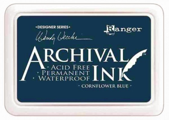 "Archival Ink  Pad ""Cornflower Blue"""