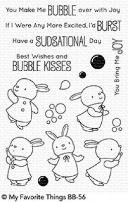 Bubble over with Joy - Stempel - MFT