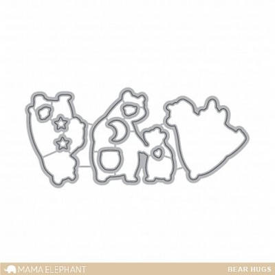 Bear Hugs - Creative Cuts- Mama Elephant