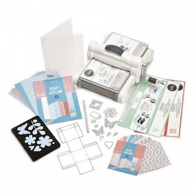 Big Shot Plus Starter Set -Maschine - Sizzix