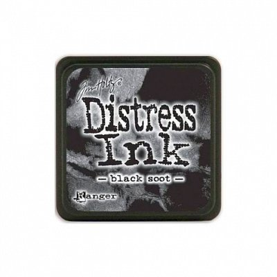 Black Soot - Distress Mini Ink Pad - Tim Holtz