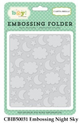 Night Sky - Embossing Folder - Carta Bella