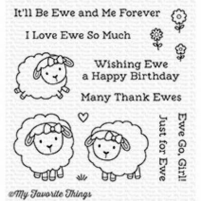 Ewe And Me Forever - Stempel - MFT