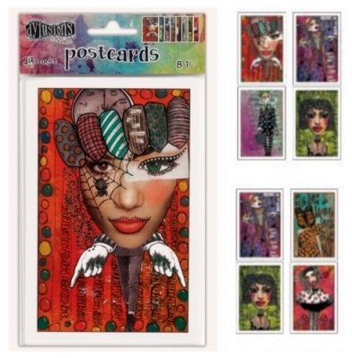 Creative Dyary  - Postcards - Dylusions