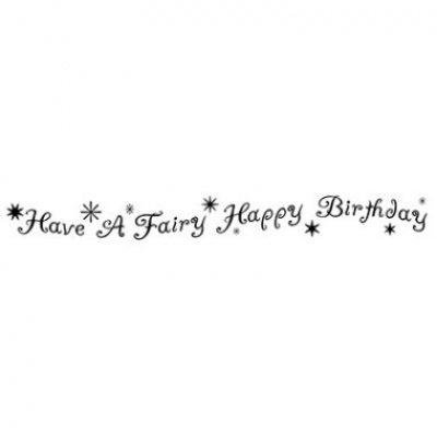 Fairy Happy Birthday - Clear Stamps - Lavinia