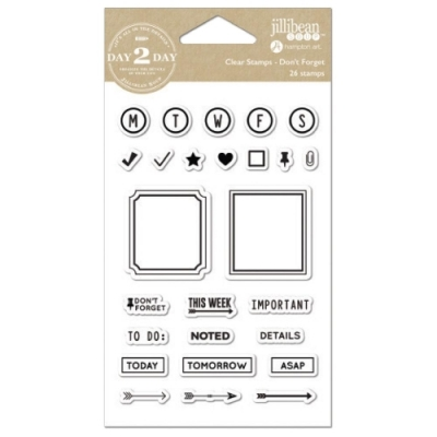 Clear Stamps - Don´t forget