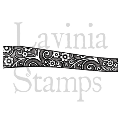 Hill border Floral - Clear Stamps - Lavinia