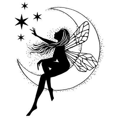 Moon Fairy - Clear Stamps - Lavinia