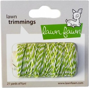 "Kordel ""Limegreen"" - Lawn Trimmings"