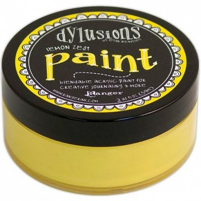 Dylusions Paint - Lemon Zest - Ranger