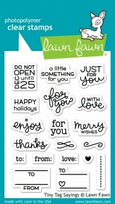 Tiny Tag Sayings - Stempel
