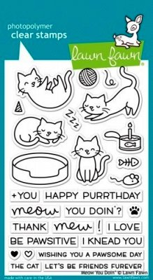 Meow You Doin - Stempel