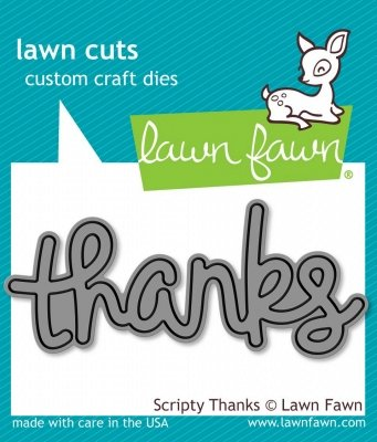 Scripty Thanks - Lawn Cut
