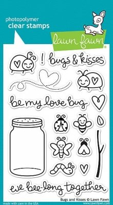 Bugs and Kisses - Stempel