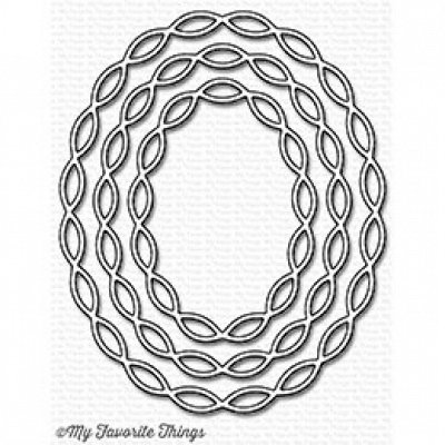 Linked Chain Oval Frames - Stanzen