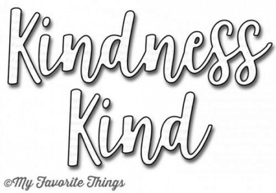 Kind & Kindness - Die-namics - Stanzen