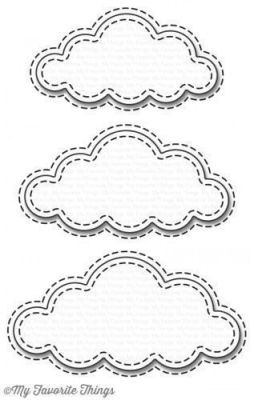 Stitched Clouds - Die-namics - Stanzen