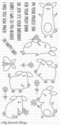 Sow Much Cuteness - Clear Stamps - MFT