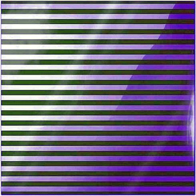"Neon Green Stripe - Clearly Bold - 12""x12"""