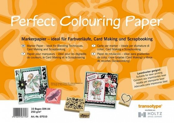 Perfect Colouring Papier A4 - 10 Stk. - Copic