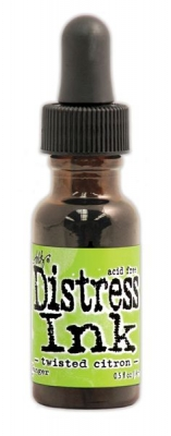 Distress Ink Reinker - Twisted Citron