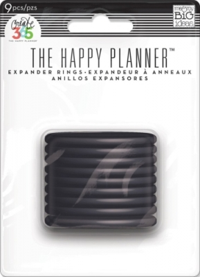 Create 365 - The Happy Planner - Expander Discs - Black