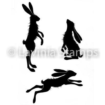 Whimsical Hares - Clear Stamps - Lavinia