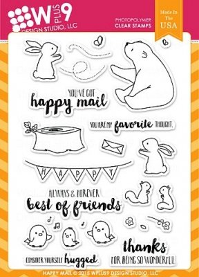 Happy Mail - Stempel