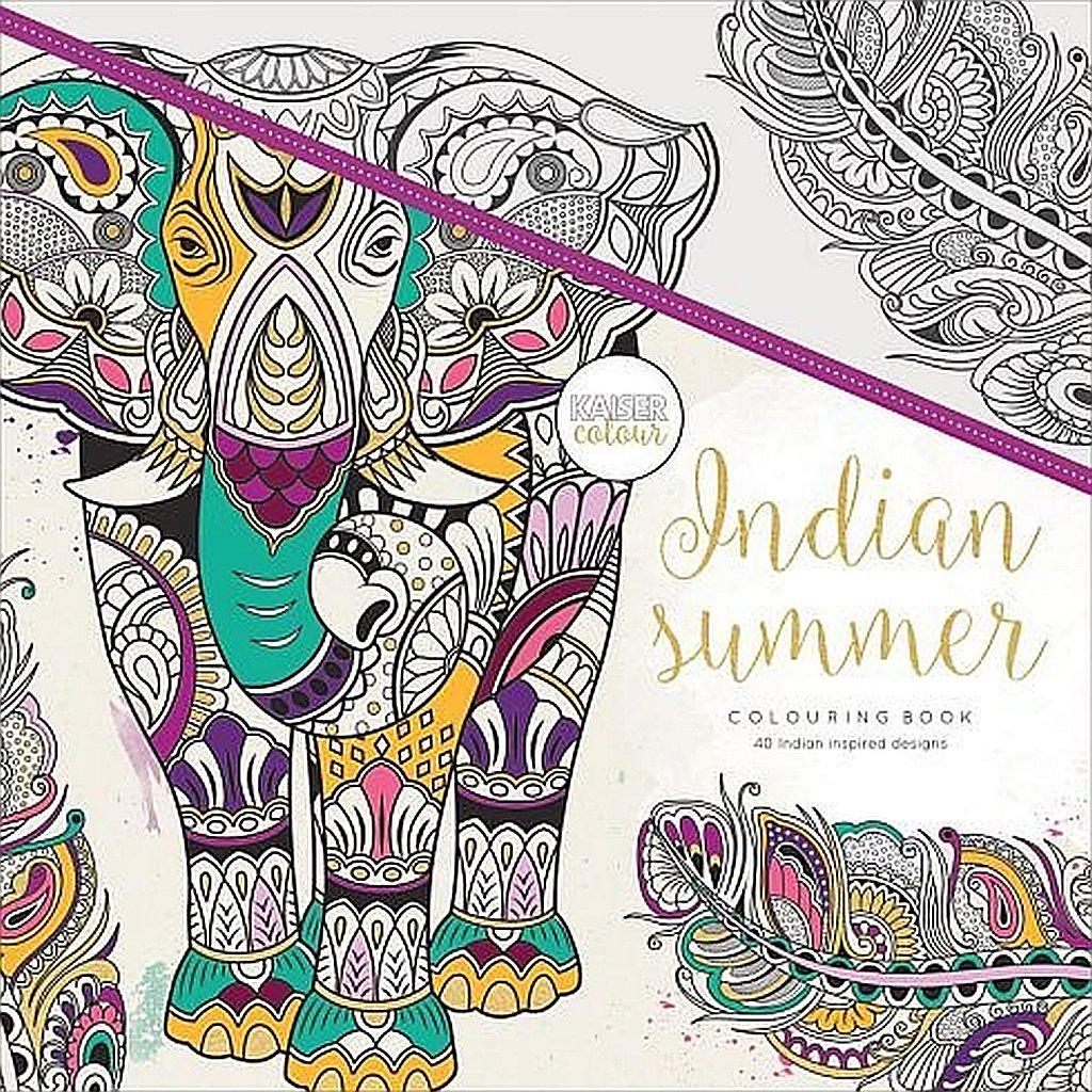 Colouring Book - Indian Summer - Kaisercraft