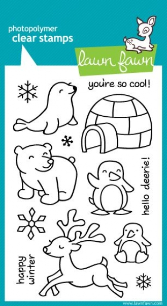 Critters in the Snow_lawnfawn