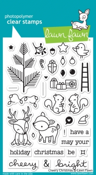 Cheery Christmas - Stempel