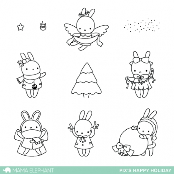 pix-happy-holiday-mama-elephant-clear-stamps