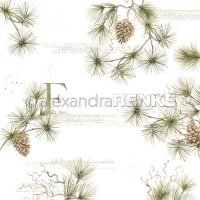 "Alexandra Renke - Fir Tree - 12""x12"""