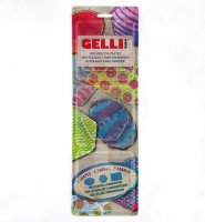 Gelli Arts - Mini Set - Rechteck - Oval - Hexagon