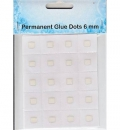 Permanent Glue Dots 6 mm - Nellies Choice