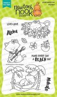 Aloha Newton - Clear Stamps - Newton´s Nook Designs