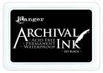 archival jet black ink ranger