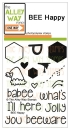 BEE Happy - Clearstamps - TAWS