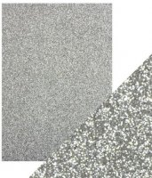 Glitter Card - Silver Screen - 5er Set