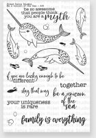 Be A Unicorn ... - Clear Stamps - Picket Fence Studios